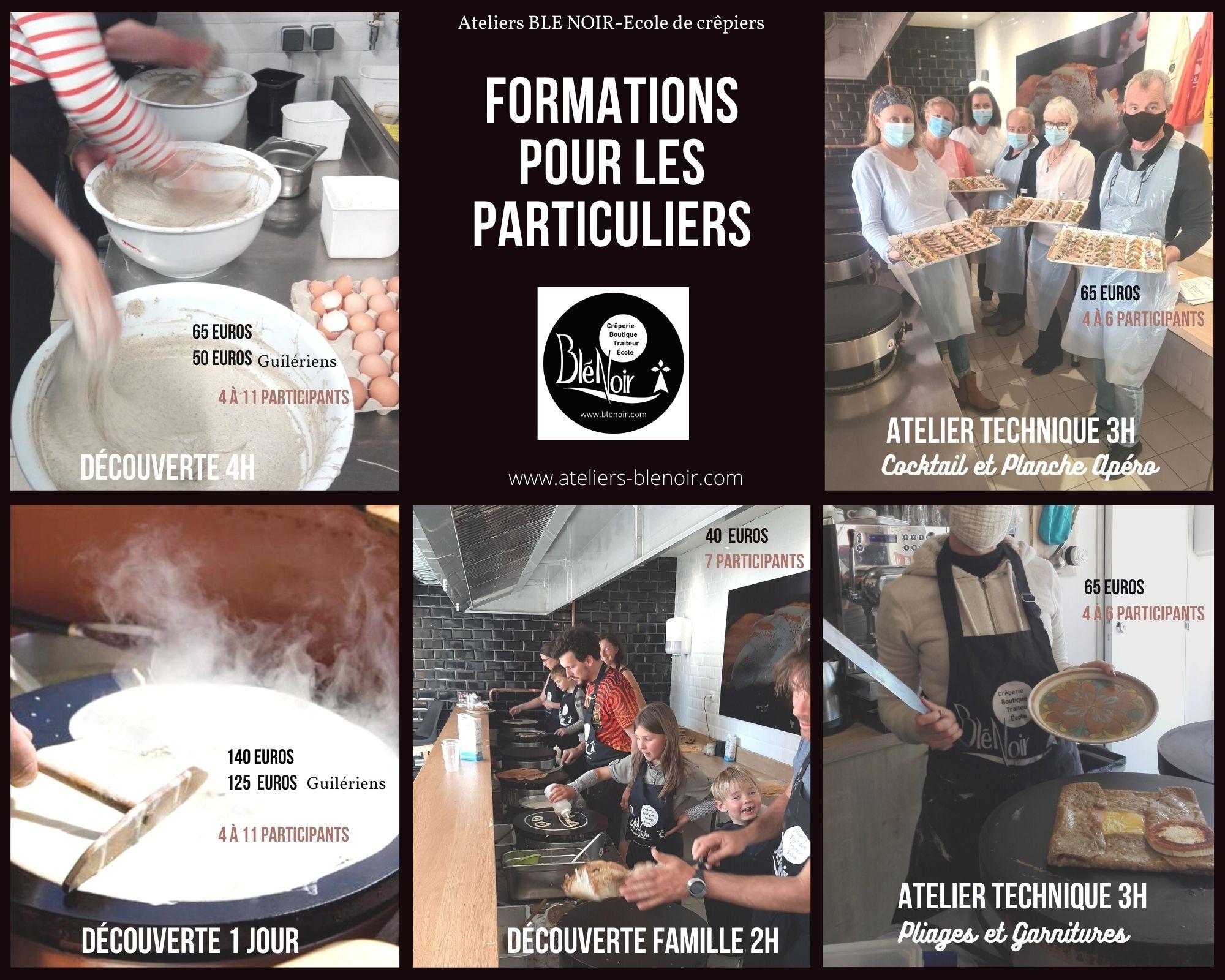 Présentation formations crêpiers Ateliers Blé Noir